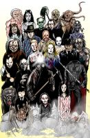 Classic Monsters 2 by wallyjunior