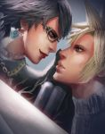 Bayonetta and Cloud by atutcha