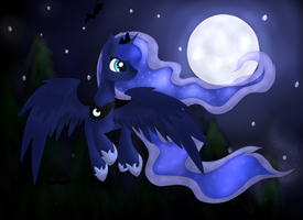 Beauty of the night by Skajcia