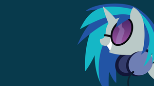 Vinyl Scratch by BluePedro