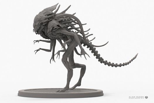 Alien Queen Wip2 by sancient