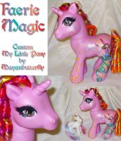 Faerie Magic Custom Pony by mayanbutterfly