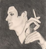 Brian: mullet+smoke+mic by deviant-Eunice