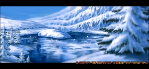~Christmas Town Study - Arctic Wilderness4~ by Nk-Cyborg