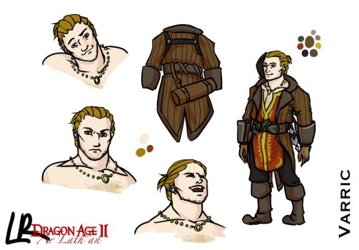 Varric Character Sheet by angelgirl5132