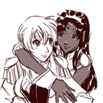 anthy and utena by mistix