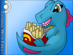 Totodile With Fries by Totodile-with-Fries
