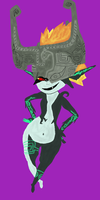Midna Version 2 :edited: by TheDisappearingGirl