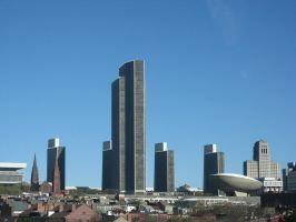 Empire State Plaza by svalbard-in-winter