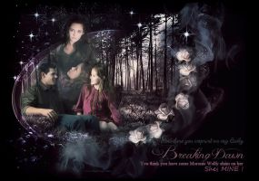 Renesmee and Jacob. Imprint by VaLeNtInE-DeViAnT