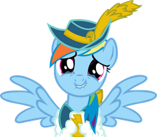 MLP Magical Mystery Cure Rainbow Dash vector by kapicator