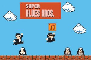 Super Blues Brothers by mattcantdraw