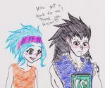Levy and Gajeel 2 by nightcat17