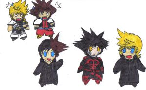 Sora and Ven are shocked by ParitSentiment