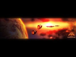 Homeworld2 Wallpaper by D-Design