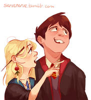 Neville and Luna by Frozenspots