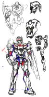 Rough Mecha Study by Frost7