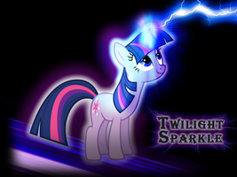 Twilight Sparkle Wallpaper by PinkiePizzles