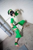 Toph Bei Fong - Are you going to fight me? by Sorel-Amy