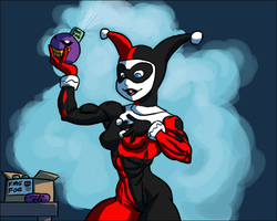 Buffing Bad - Harley Quinn by Ritualist