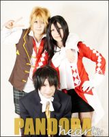 Pandora Hearts Cosplay Group by D3ra