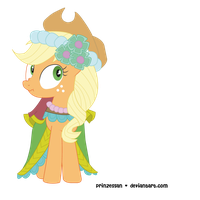 Applejack Vector by Candy-Muffin