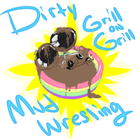 DIRTY GRILL ON GRILL MUD WRESTLING by SOLIDShift