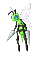 Shiny Beedrill by UnlimitedRageWorks