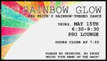 Rainbow Glow Dance Ticket by JozJaeger