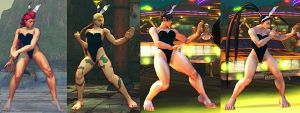 SSF4 Mod - Playboy Bunnies Collection Part 1 by Segadordelinks