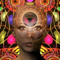 Fractal Face by ExosiusWoolley