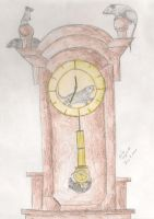 Clock Keepers by HeartlessArt
