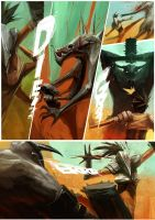 Gladiator life_Comic_PG005 by ZeenChin