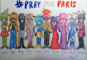 Pray for Paris by Silvaze126
