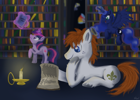 Late Studies by Angelstar7