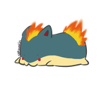 ::AT:: I has a fireybutt by nekocookies