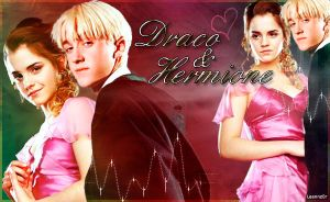 Draco and Hermione by Leannz0r