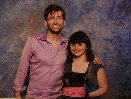 David Tennant and MY HAT by Hatters-Workshop