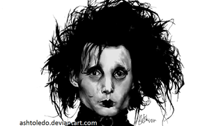 Edward ScissorHands by ashtoledo
