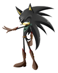 Black The Hedgehog by SweetSilvy