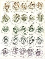 25 Expressions - Lucy by firecloud