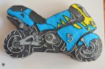 Motorcycle Cake 1 by Mirania666