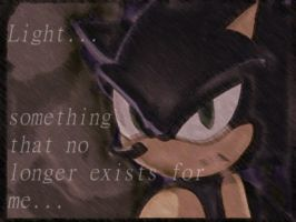Dark sonic-no light for me. by Mudfire10