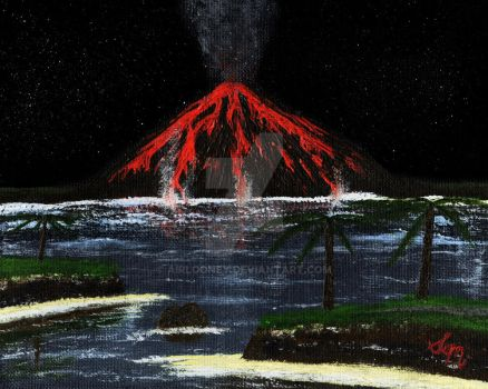 Eruption #1 (Original Colors) by AirLooney