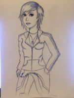 OC: Alice Shepard by Chaotic-Alice