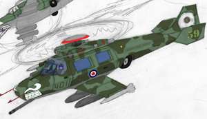 Orca Attack Helicopter WIP by Ravajava