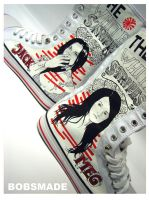 Bobsmade_shoes-WhiteStripes by Bobsmade