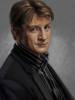 Nathan Fillion by characterundefined