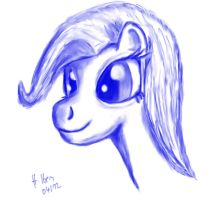 Just another pony head by caffeinejunkie