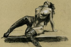 nude drawing 1 by greenday862